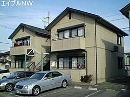 三重県松阪市五反田町1丁目の賃貸アパートの外観