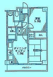 シュール梶ヶ谷[3階]の間取り