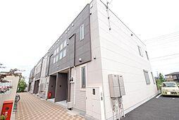 埼玉県越谷市大字下間久里の賃貸マンションの外観