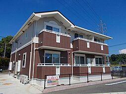 福岡県飯塚市川島の賃貸アパートの外観