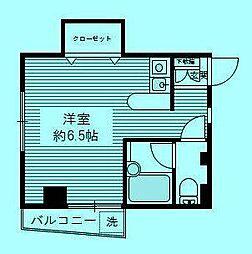 トーシンコーポ登戸[2階]の間取り