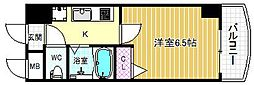 HOPECITY天神橋[7階]の間取り