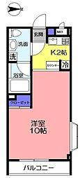 ダイワティアラ村上駅前マンション2[201号室]の間取り