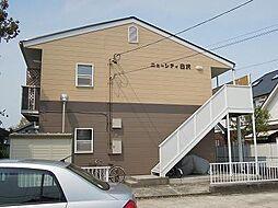 愛知県名古屋市守山区白沢町の賃貸アパートの外観