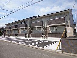 東京都青梅市野上町3丁目の賃貸アパートの外観