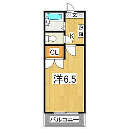 メゾン桃栄II[2階]の間取り