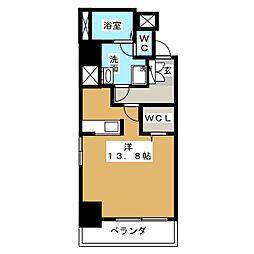 ラ・ルーシュ泉[7階]の間取り