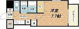 S-RESIDENCE緑橋駅前[11階]の間取り