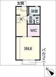 ディアス神ノ輪[2階]の間取り