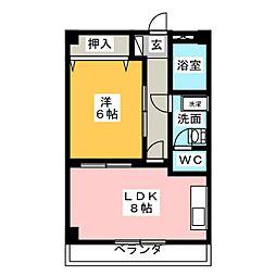 MTGビル[3階]の間取り