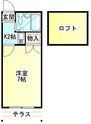 鴨宮駅 3.3万円