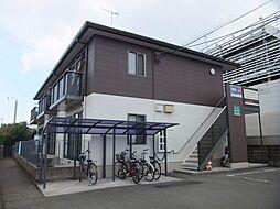 愛媛県松山市空港通2丁目の賃貸アパートの外観