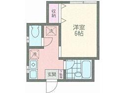 KOOKAI[2階]の間取り
