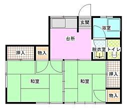 小松アパートI[1階]の間取り