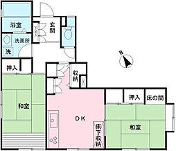 [一戸建] 東京都杉並区久我山2丁目 の賃貸【/】の間取り
