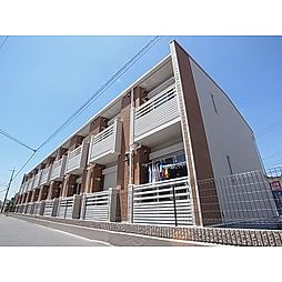 奈良県香芝市瓦口の賃貸アパートの外観