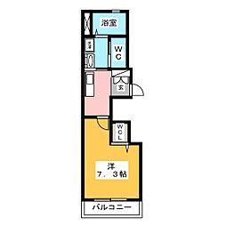SKIII[1階]の間取り