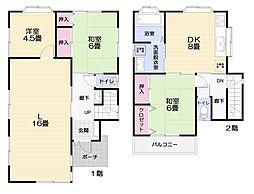 [一戸建] 神奈川県横須賀市長井3丁目 の賃貸【/】の間取り