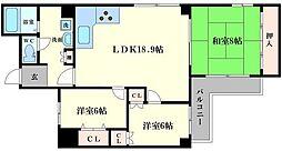 エレガントハイツシーダ[7階]の間取り