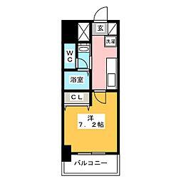 チェルトヴィータ[11階]の間取り