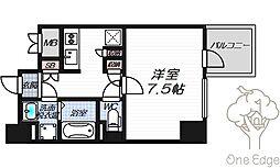 リーガレジデンス豊崎[11階]の間取り