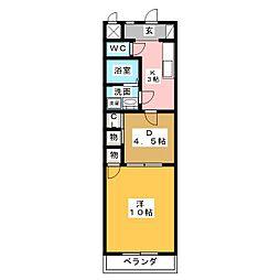 ロフティー31[2階]の間取り