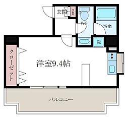 KWレジデンス森下II[8階]の間取り