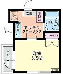 神奈川県相模原市南区相模台4丁目の賃貸マンションの間取り