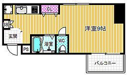 メゾンドゴトウ[4階]の間取り
