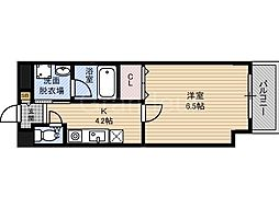 IKカーサ[4階]の間取り