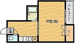 カンティオン[4階]の間取り