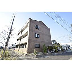愛知県北名古屋市鍜治ケ一色西一丁目の賃貸マンションの外観