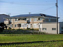 静岡県焼津市三和の賃貸アパートの外観