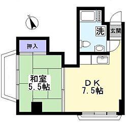 石神井マンション[4階]の間取り