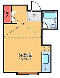 メゾネット・サイド[3階]の間取り