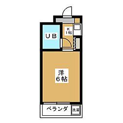 ダイヤハイツII[2階]の間取り