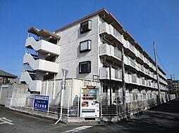 埼玉県鶴ヶ島市松ヶ丘5丁目の賃貸マンションの外観