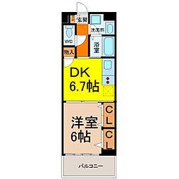 センチュリーパーク新川一番館[3階]の間取り
