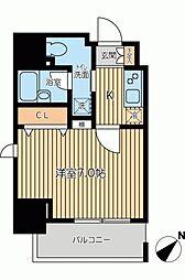 KWレジデンス新川II[0404号室]の間取り