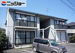ディアス白樺B棟[1階]の外観