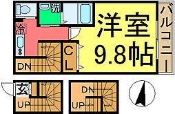LINK SINKOIWA[301号室]の間取り