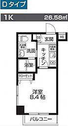 レオーネ板橋本町[1階]の間取り