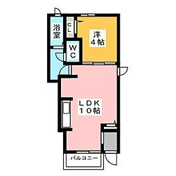 スターフィールド[1階]の間取り