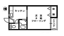 ピュアメイト[2階]の間取り