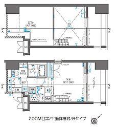 ZOOM目黒[12階]の間取り