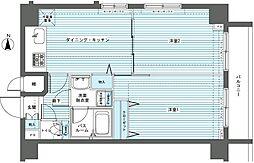 フェニックス中板橋[9階]の間取り