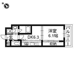 Grand E'terna 京都[1510号室]の間取り