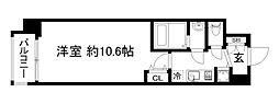 アール京都グレイス[4階]の間取り