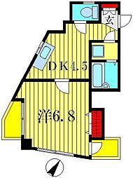 プチメゾン青戸[2階]の間取り