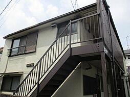 東京都北区岩淵町の賃貸アパートの外観